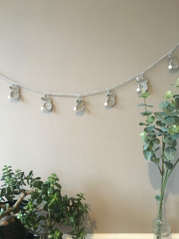 Bunny garland. Nursery decoration. - product image 5