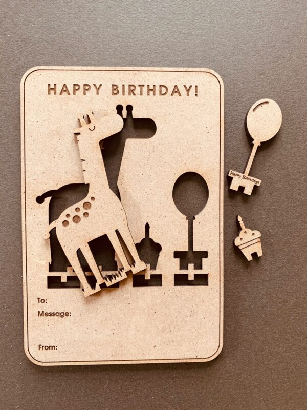 Pop-out Party Animal Birthday Card | 3D Birthday Card - product image 3