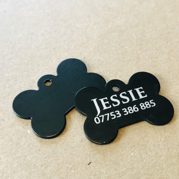 Aluminium Dog Bone Tag   Personalised Pet Identity Tag - product image 5