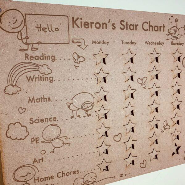 Personalised Reward Chart   Star Chart   Children's Reward Chart - product image 3