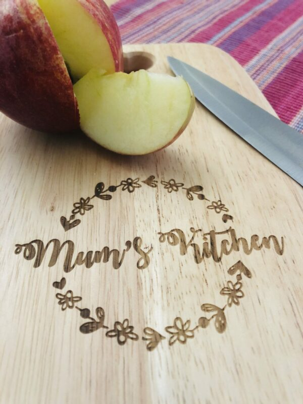Personalised Chopping Board | Personalised Kitchen gift - product image 3