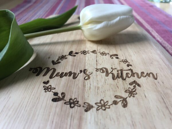 Personalised Chopping Board | Personalised Kitchen gift - product image 4