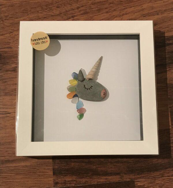 Unicorn Pebble Art Frame - product image 2