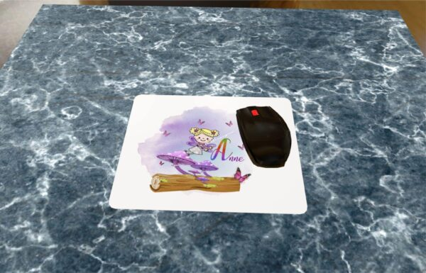 Personalised Fairy Mouse Mat - main product image