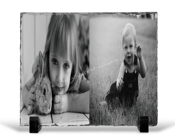 Personalised Father's Day Rock Slate - main product image