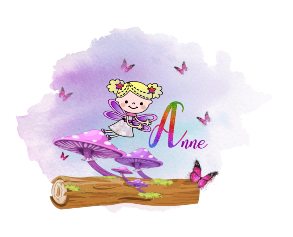 Personalised Fairy Mouse Mat - product image 4