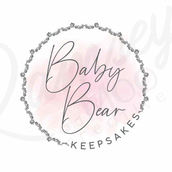 Baby bear keepsakes shop logo