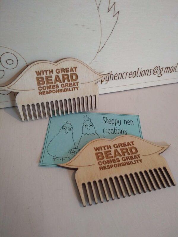 Beard comb - product image 2