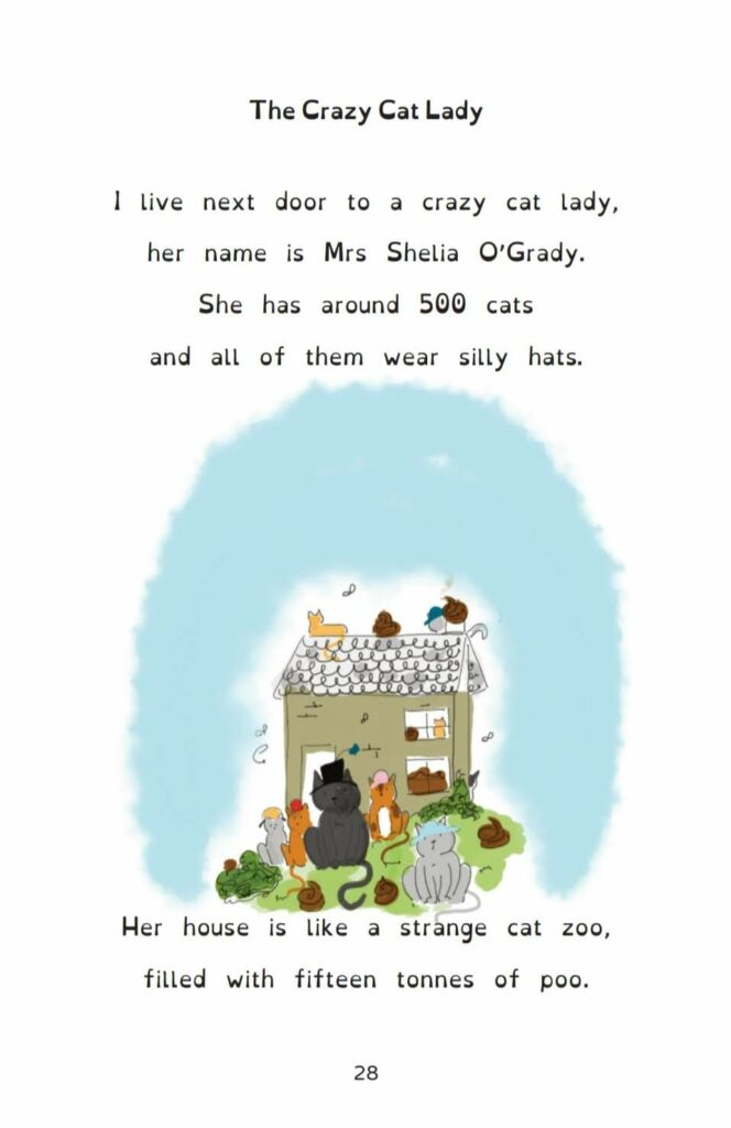 Children's Book, The Book of Silly Rhymes, Signed Copy - product image 6