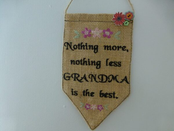 Best grandmother pennant – banner - product image 3