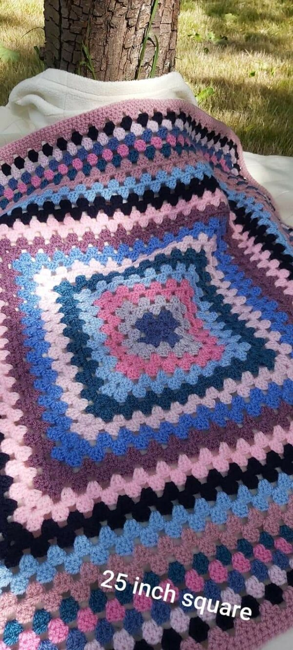 Shades of Pink Baby Blanket - main product image