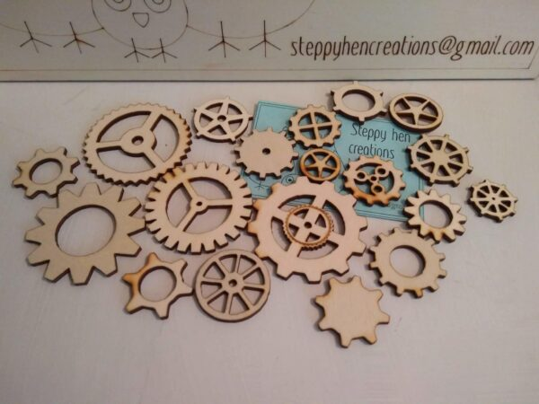 Selection of cogs - main product image