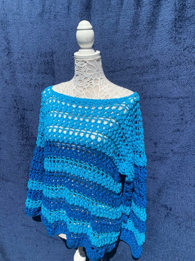Blue summer top - product image 3