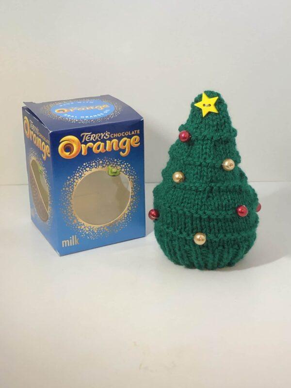 Xmas tree chocolate orange cover - main product image