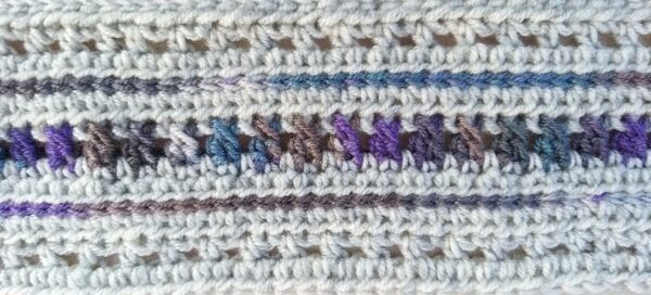 Made to Order Skinny Crochet Wool Mix Scarf Warm Winter Accessories - product image 2