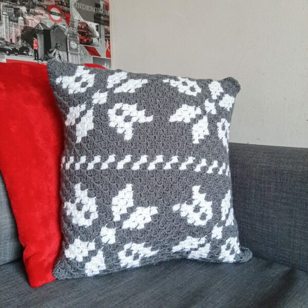 Scandi style cushion - main product image
