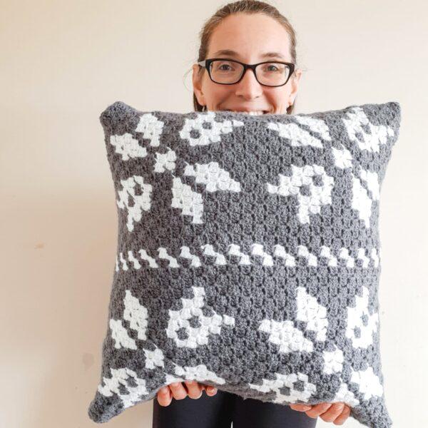 Scandi style cushion - product image 4