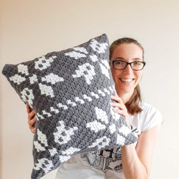 Scandi style cushion - product image 5
