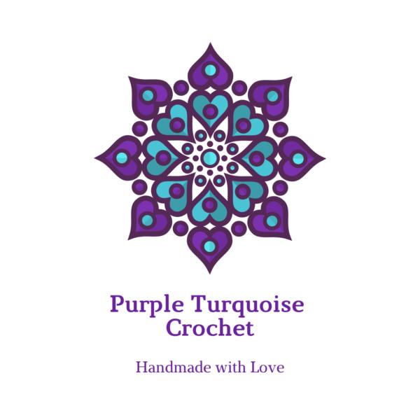 Purple Turquoise Crochet Store shop logo