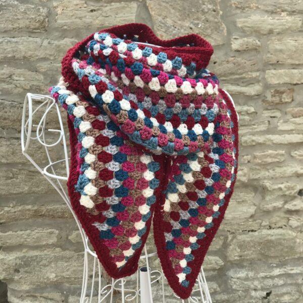 Granny Stripe Scarf - product image 4