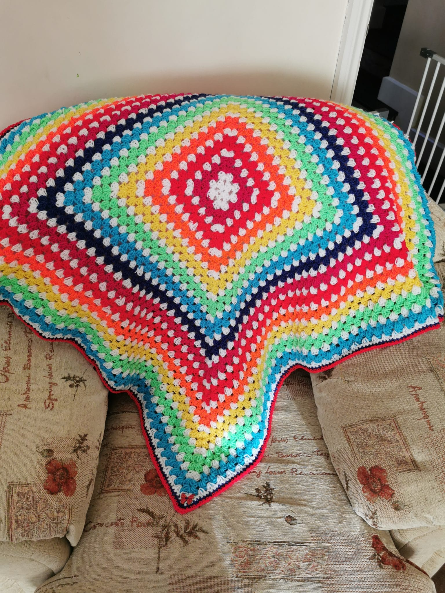 Rainbow Baby Blanket Made By Mums
