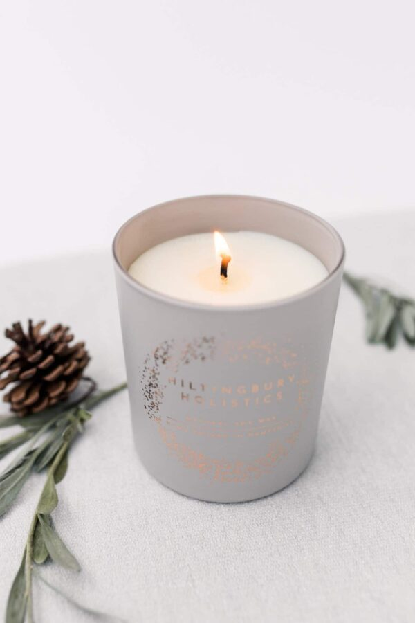 Natural soy wax scented candle hand-poured in Hampshire - product image 2