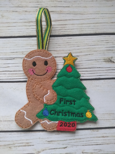 Personalized Baby's First Christmas Decoration - product image 2