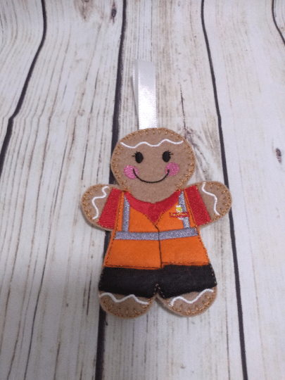 Postman/post lady Gingerbread gift, Royal Mail worker, Christmas gifts for postman - product image 2