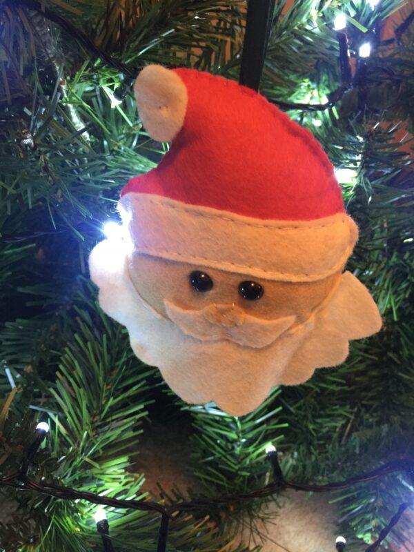 Santa tree decorations - main product image