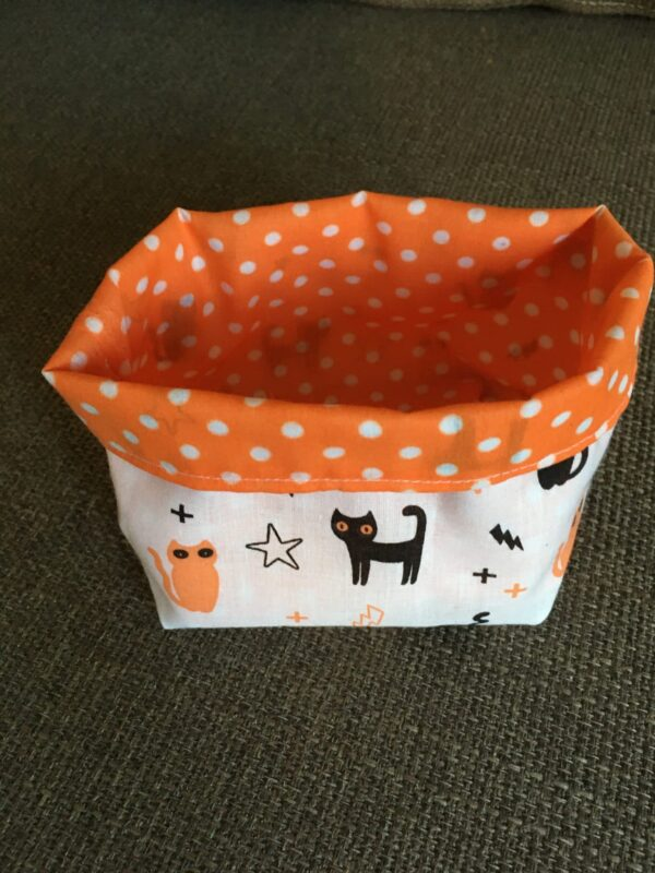 Halloween reversible storage caddy - main product image