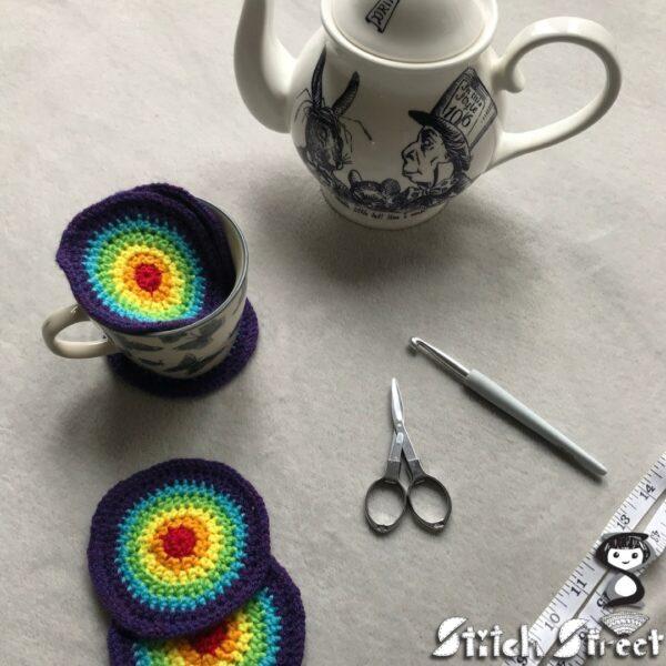 Rainbow coasters - product image 2