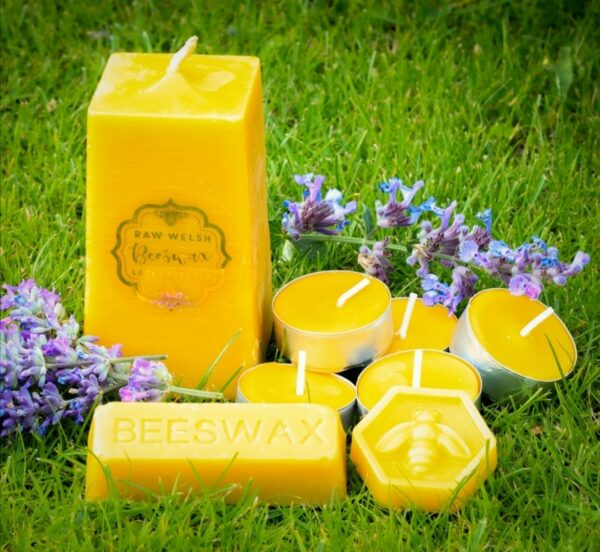 Pure Welsh Beeswax Candle Gift Set - main product image