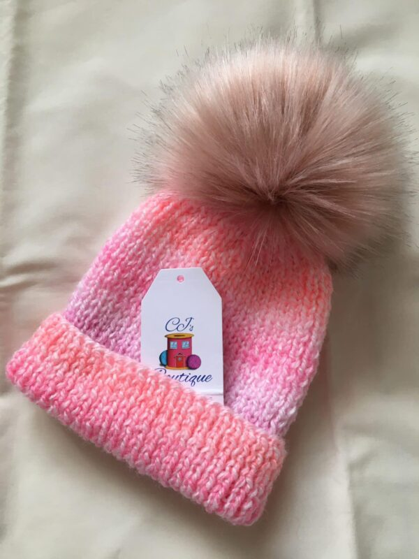 Baby Girls Pink Hat - main product image