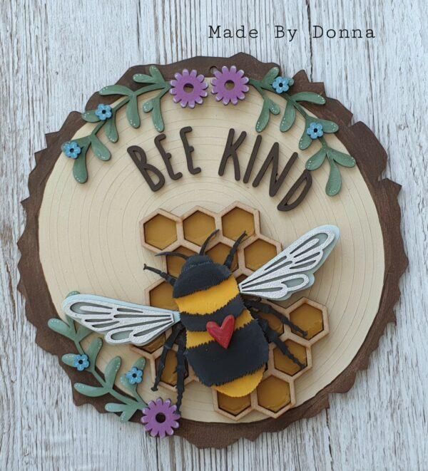 Bee Kind wall decor - main product image