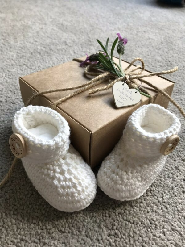 Baby Congratulations Booties - product image 4