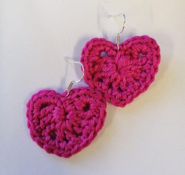 Crocheted Dangling Earrings - product image 2