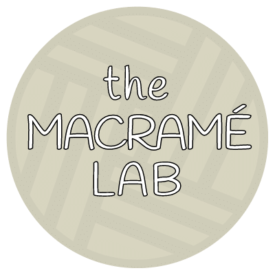 The Macramé Lab shop logo
