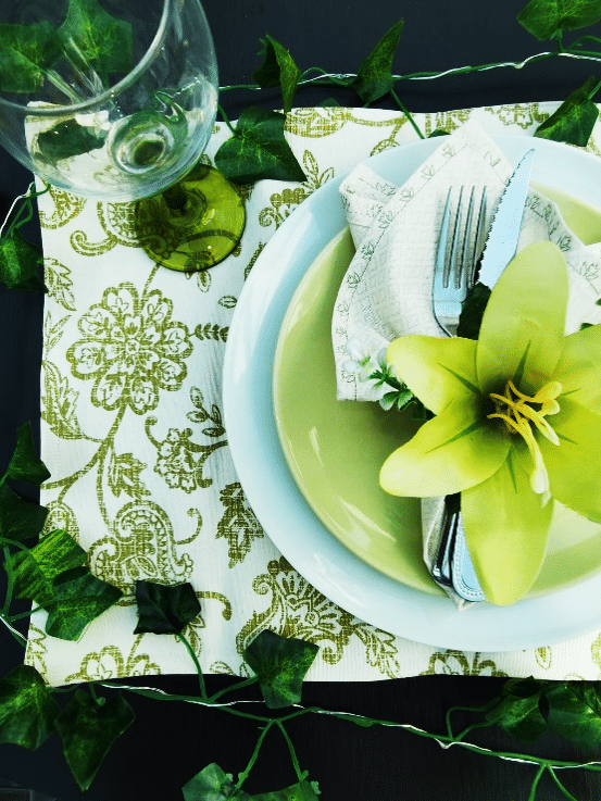 Olive Paisley Placemats - main product image