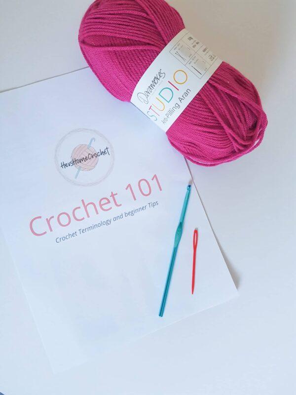 Crochet Beginner Kit, Learn To Crochet Beginner Set - main product image