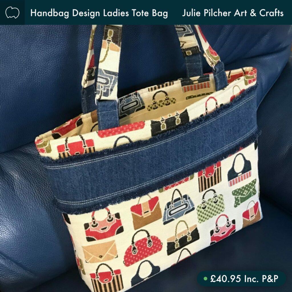 Handcrafted Ladies Tote Bag