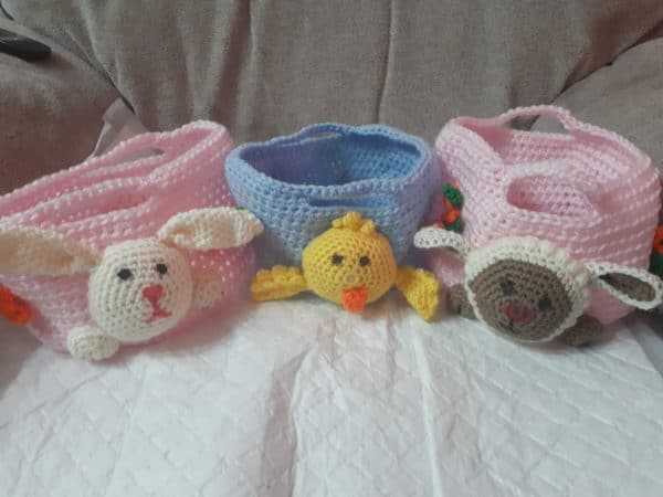 Easter egg baskets - main product image