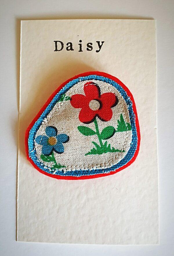Daisy Print Brooch - main product image