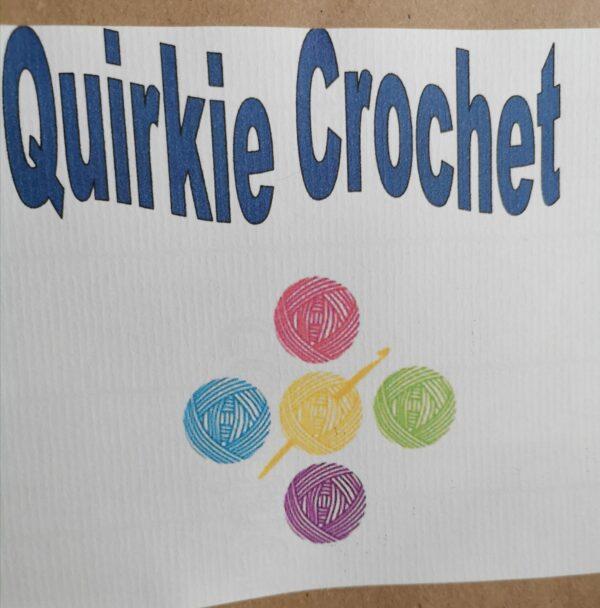 Quirkie crochet shop logo