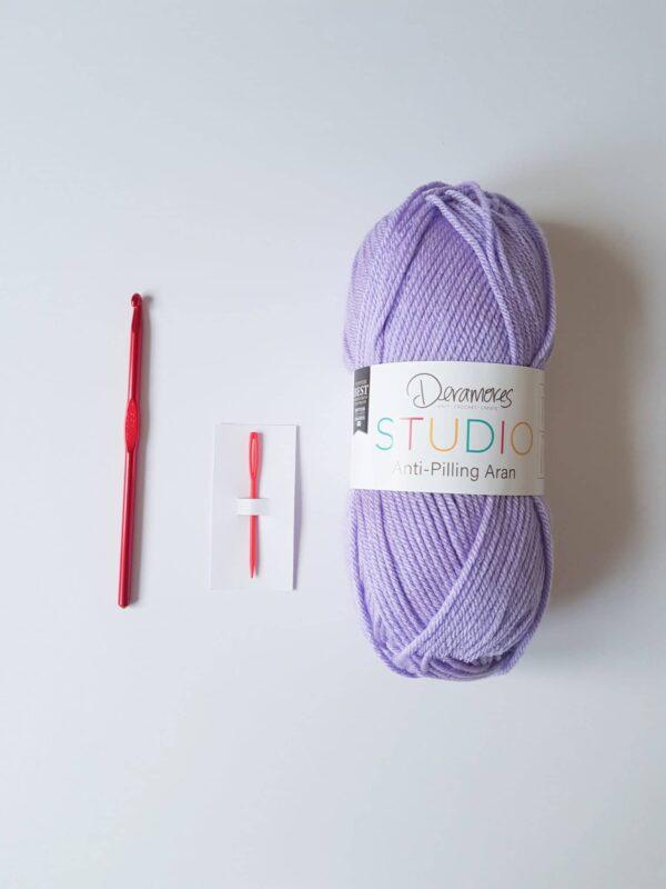 Crochet Beginner Kit, Learn To Crochet Beginner Set - product image 2