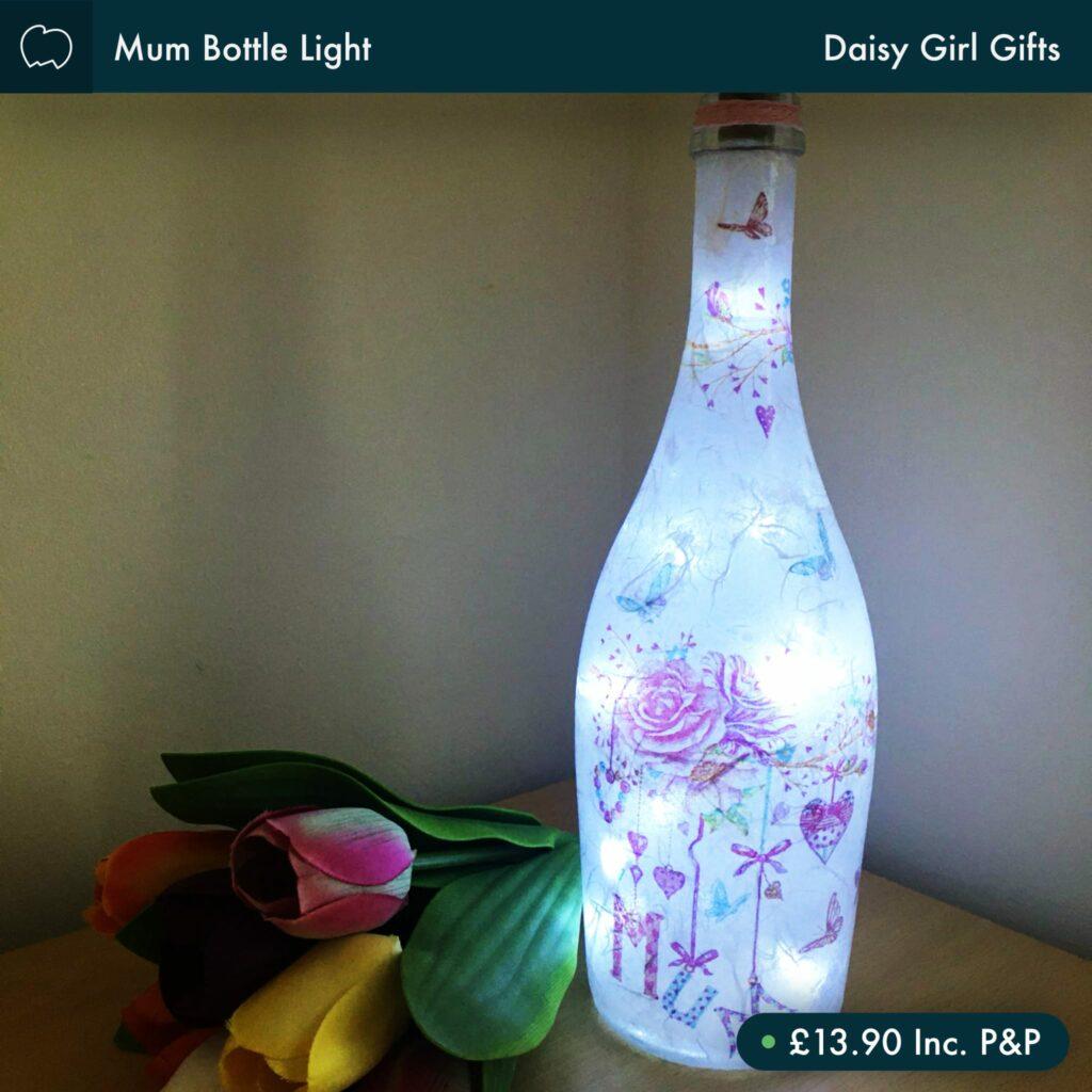 Mum Bottle Light