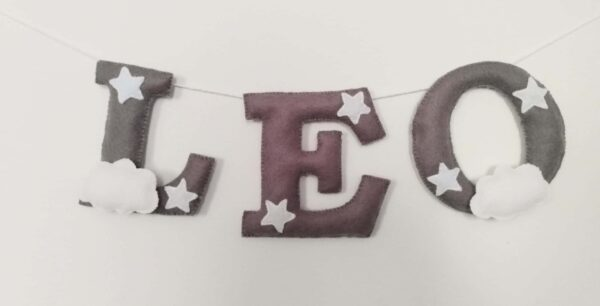 Stars and clouds bunting - main product image