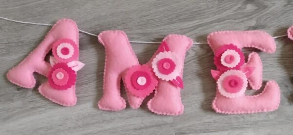 Floral nusery bunting - product image 3