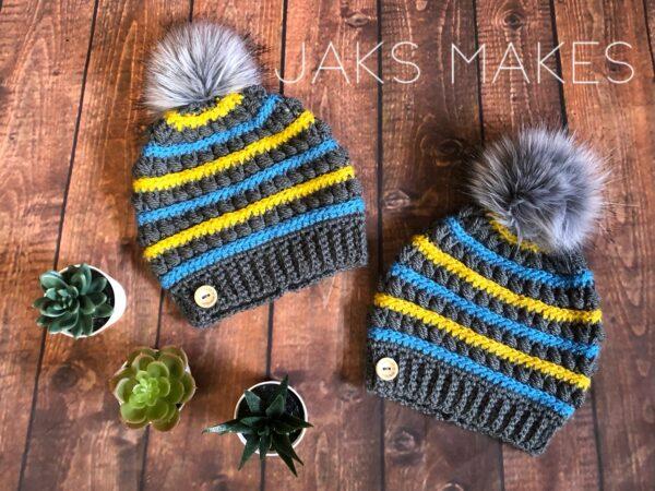 Handmade Crochet Beanie - main product image