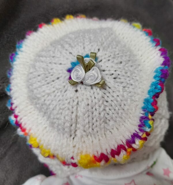 Baby/Doll Bonnet 0-3months - product image 3