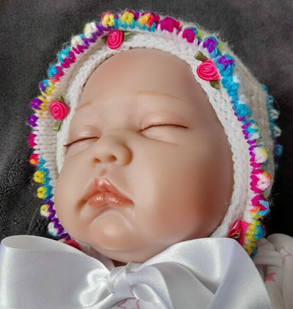 Baby/Doll Bonnet 0-3months - main product image